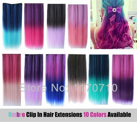 New Aliexpress Com Buy Cheap Synthetic Clip In Ombre Ideas With Pictures
