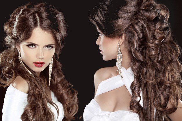 New Easy Curly Hairstyles For Summer Party Ideas With Pictures