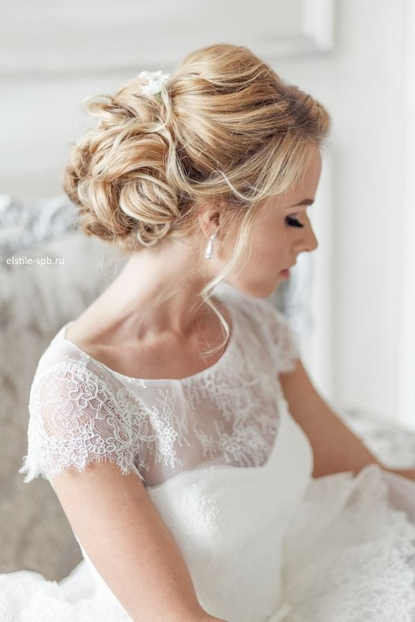 New Elegant Wedding Hairstyles Part Ii Bridal Updos Tulle Ideas With Pictures