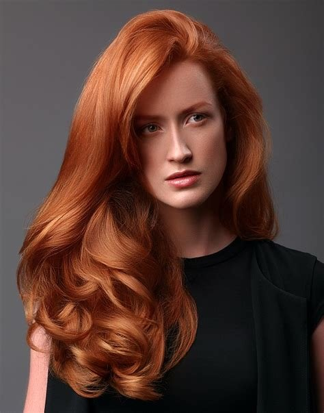 New A Long Red Hairstyle From The It Looks Autumn Winter 2015 Ideas With Pictures