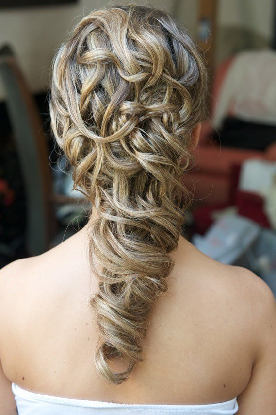 New Wedding Hair Styles For Long Hair Wedding Make Up And Ideas With Pictures