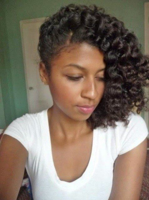 New Pin Curls Hairstyle For Black Women – Cruckers Ideas With Pictures