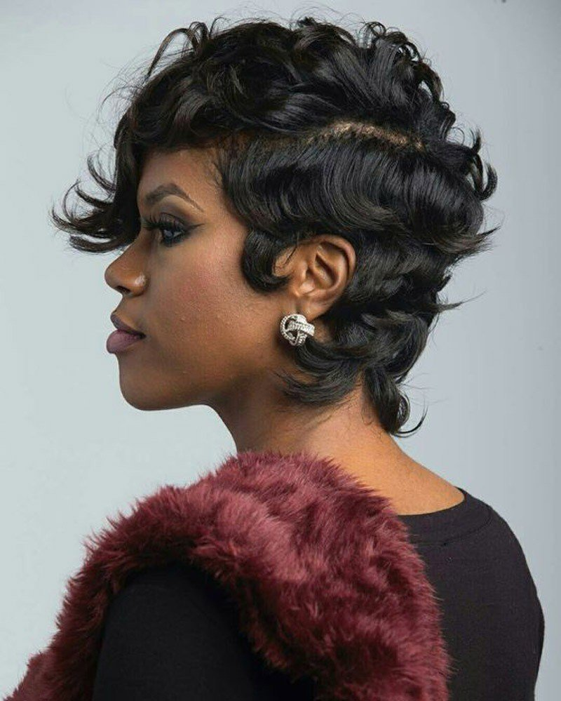 New Short Hairstyles For Black Women 2019 Evesteps Ideas With Pictures