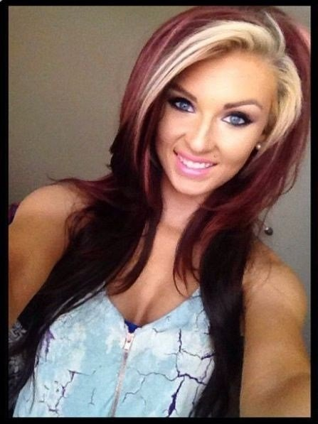 New Two Tone Hair Color Pictures Photos And Images For Ideas With Pictures