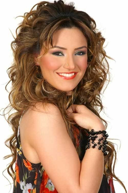 New 30 Best Curly Hair With Bangs Hairstyles Haircuts 2016 Ideas With Pictures