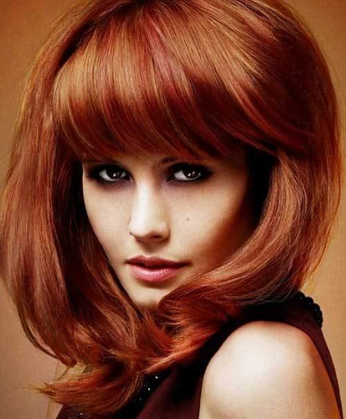 New Haircuts For Medium Thick Hair Hairstyles Haircuts Ideas With Pictures
