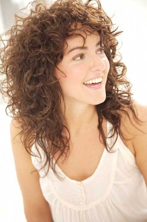 New 35 New Curly Layered Hairstyles Hairstyles Haircuts Ideas With Pictures