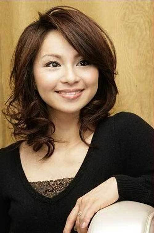 New 25 Asian Hairstyles For Round Faces Hairstyles Ideas With Pictures