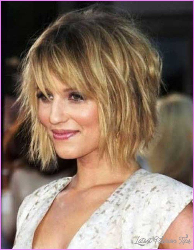 New Medium Messy Bob Hairstyles Latestfashiontips Com Ideas With Pictures