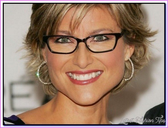 New Short Hairstyles For Women Over 50 With Glasses Ideas With Pictures