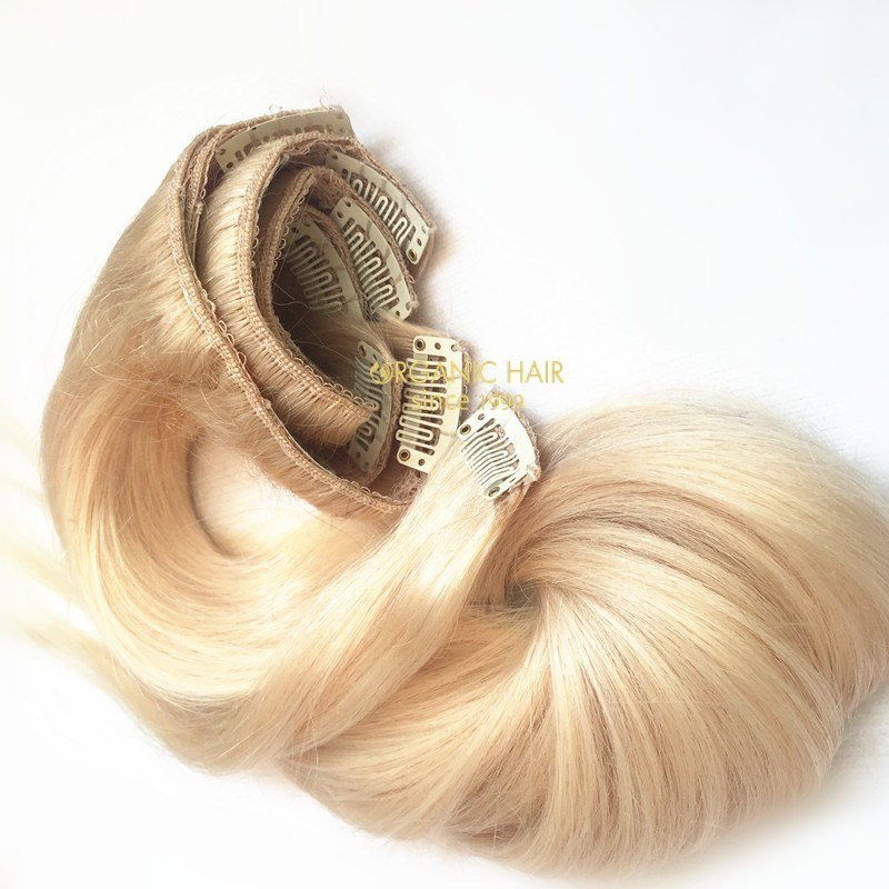 New Colored Clip In Hair Extensions China Oem Colored Clip Ideas With Pictures