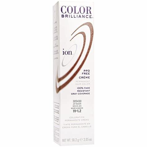 New Ion Color Brilliance Permanent Creme 1V Jet Black Ideas With Pictures