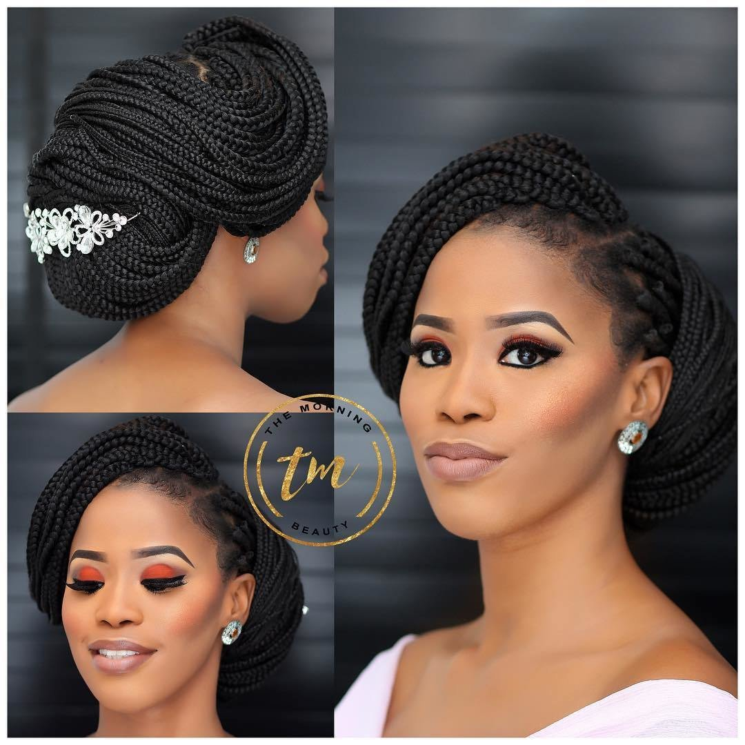 New Box Braids For Wedding Get Inspired By This Flattering Ideas With Pictures