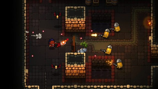 Enter the Gungeon  Video games  Pixel art Wallpapers HD   Desktop     Enter the Gungeon  Video games  Pixel art HD Wallpaper Desktop Background