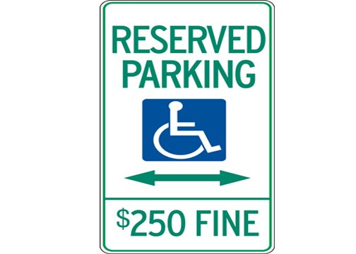 Handicap Placard And Parking Meters