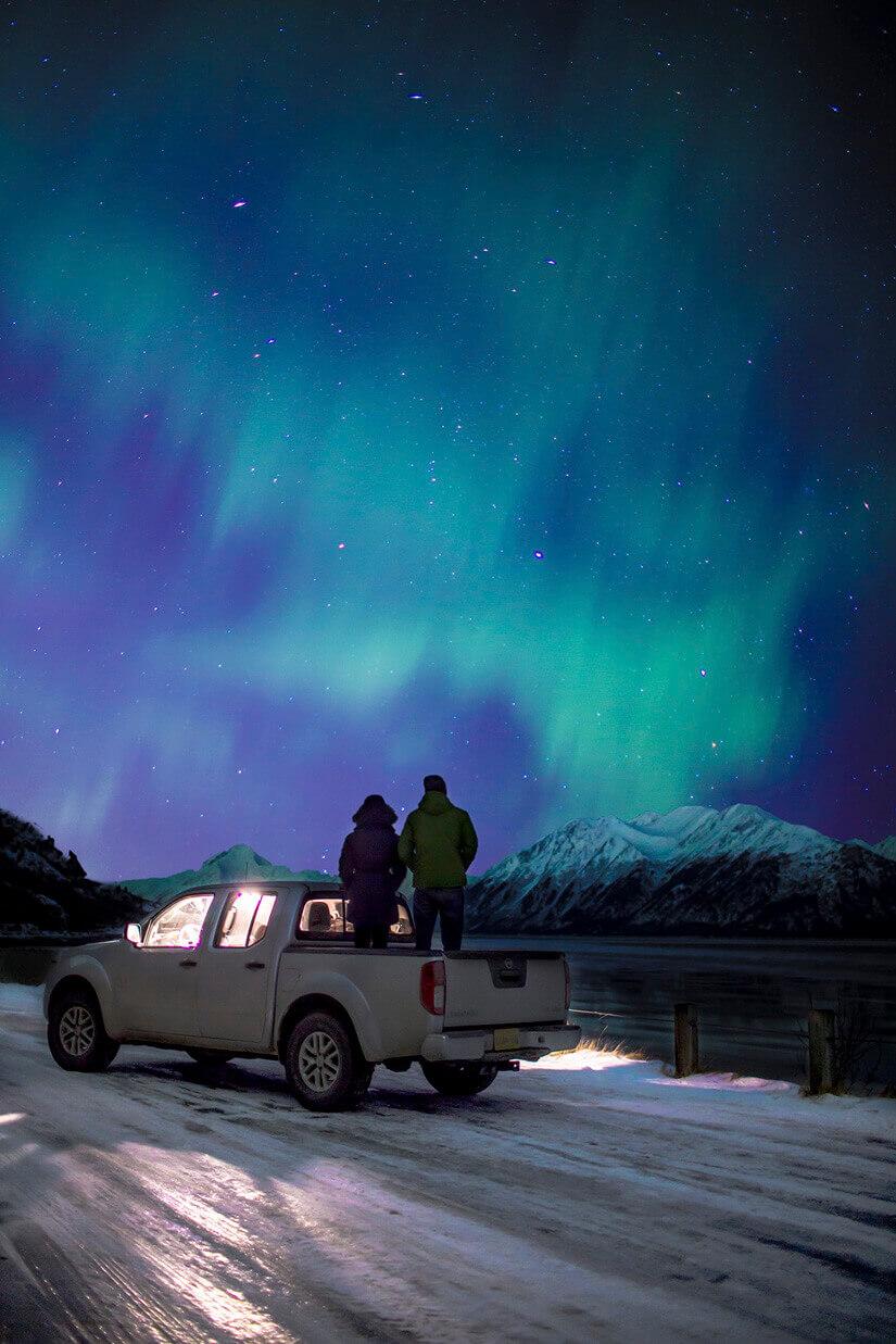 Northern Lights Location Alaska