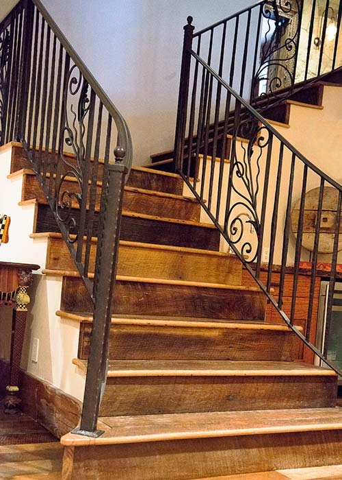 Stairs Hand Rails Hardwood Flooring Colorado Ward Hardwood   Hardwood Handrails For Stairs   Brown   Outdoor   Stairway   Light Wood   Colour Stair Painted Stair Railing