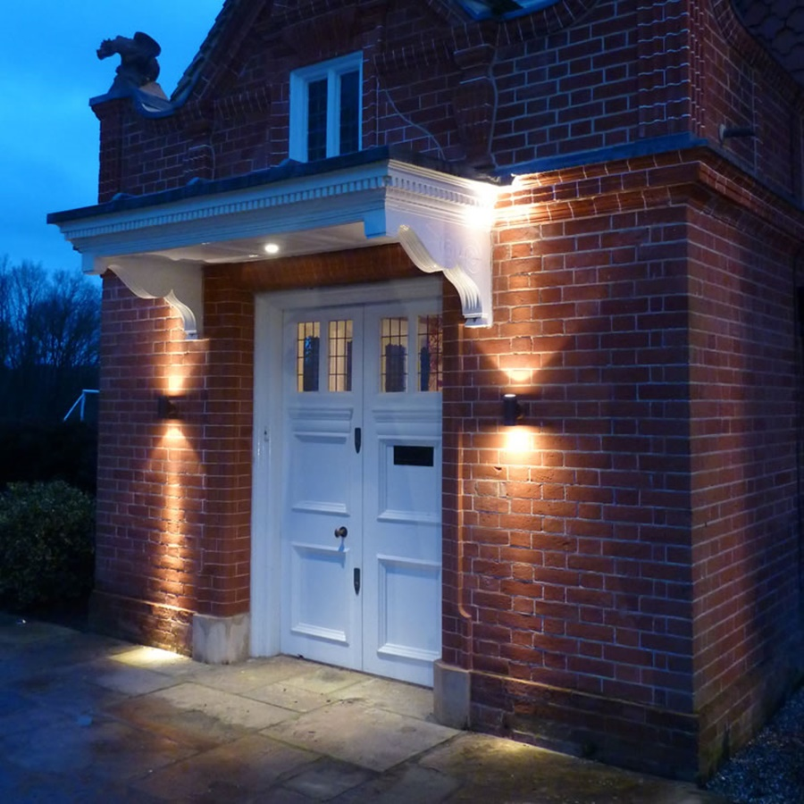 Solar Powered Outdoor Sconces