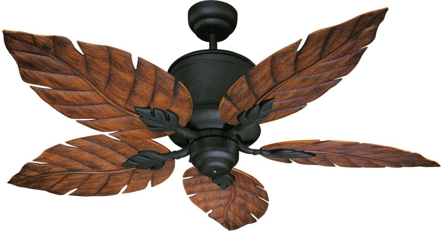 Tropical leaf ceiling fan   the best fan to install   Warisan Lighting Tropical leaf ceiling fan     the best fan to install
