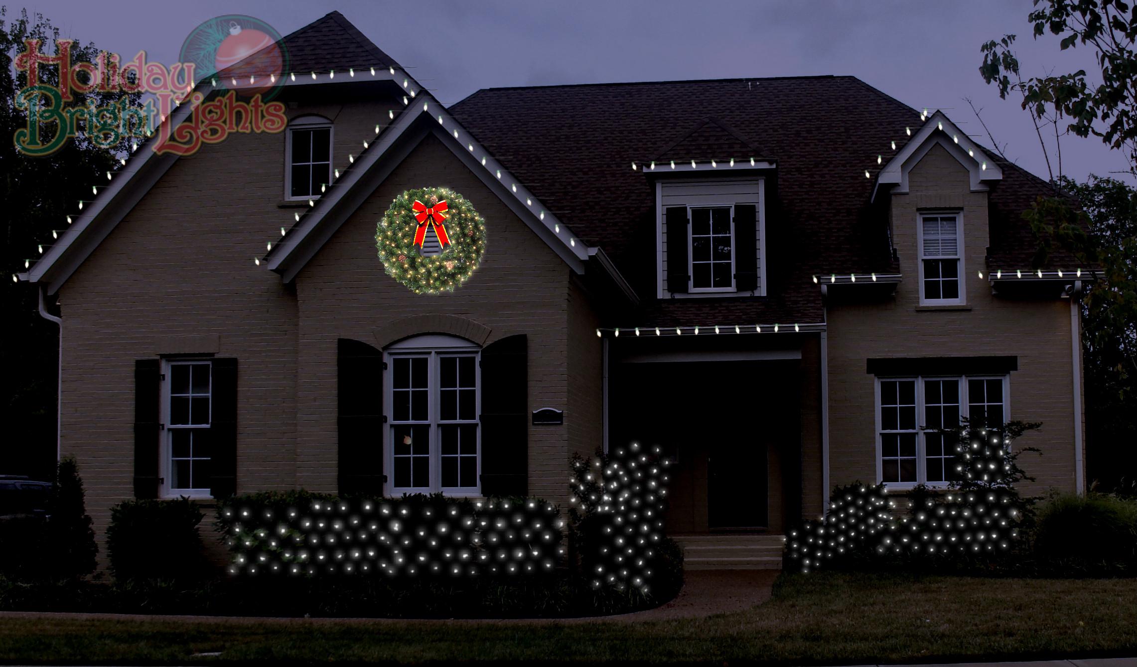 Led Green Christmas Lights
