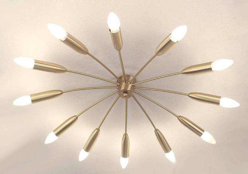 Brighten Up Your Space With Sputnik Ceiling Lights   Warisan Lighting sputnik ceiling light photo   8