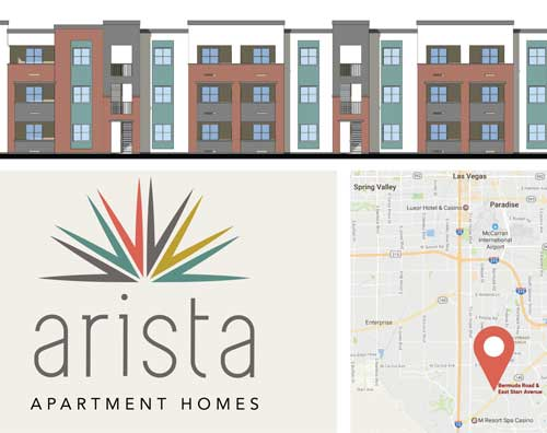 Arista logo and renderings