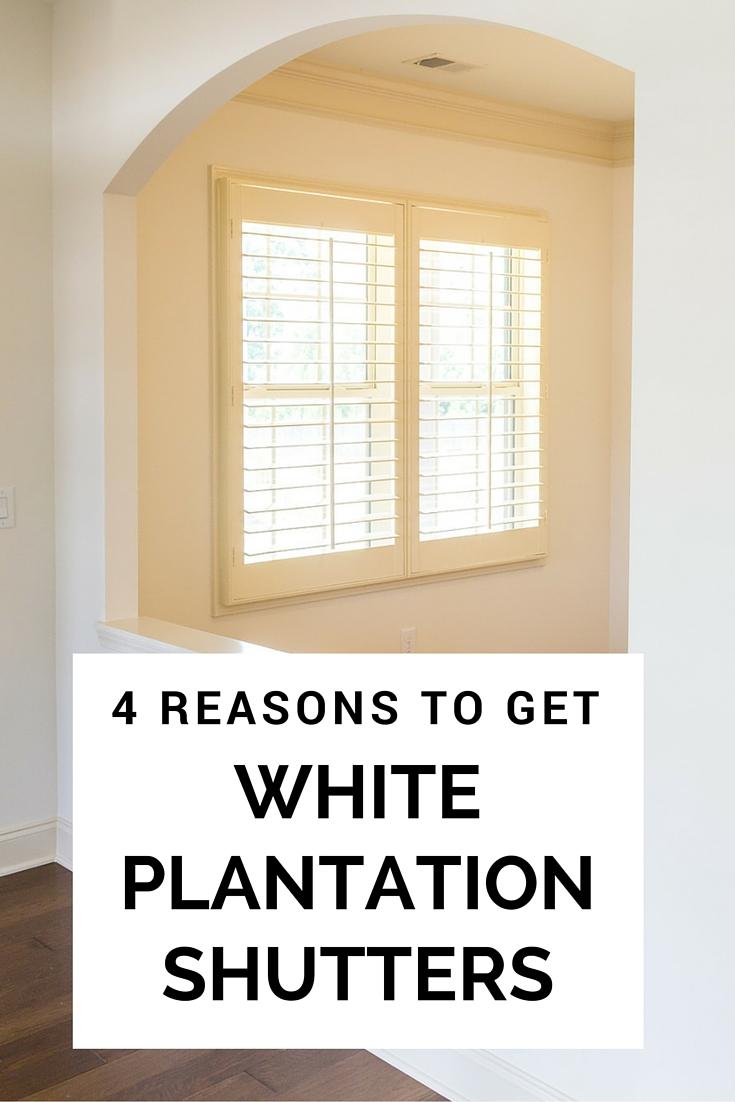 4 Shutters Plantation White