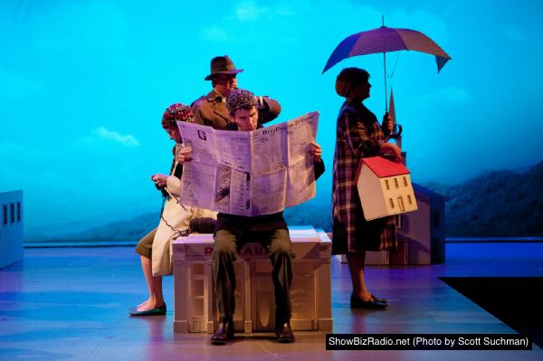 Opening Tableau In Photos Of Signature Theatre The Boy