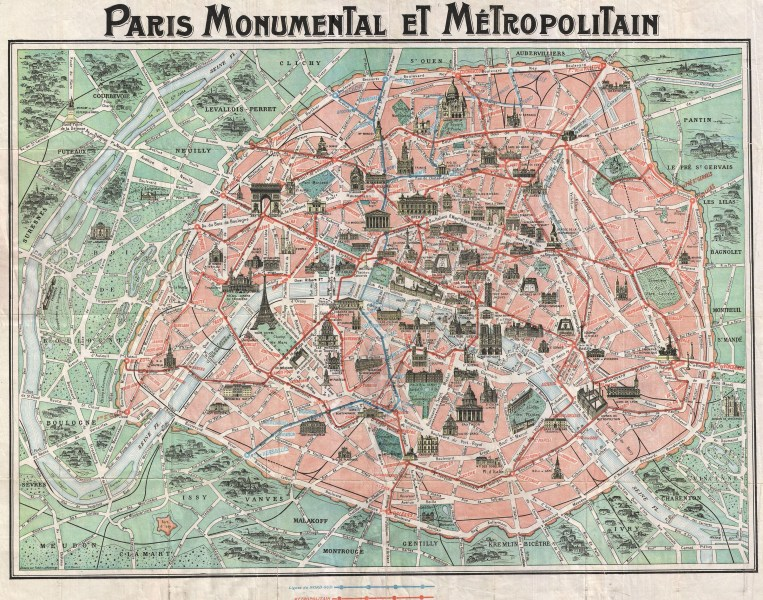 Paris Map 1850 Paris from 1800 1900 by  Conor Sweeney