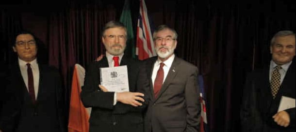 Gerry Adams Wax