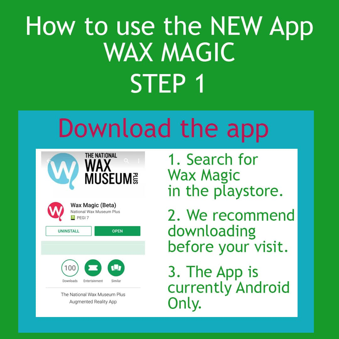 How To Use the Wax Magic App, Step 1 Search for and download the app in the Playstore. It's called Wax Magic and it is currently android only