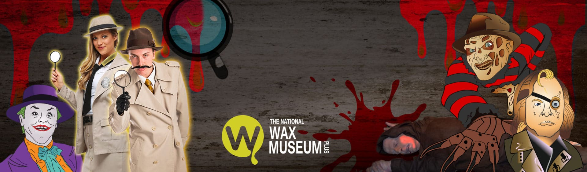 Murder Mystery at The National Wax Museum Plus