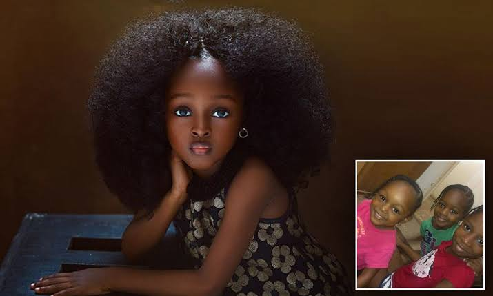 5-year-old girl named most beautiful in the world becomes ...