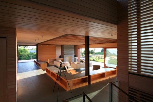 Timber Cladding Interior