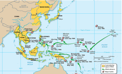 Island-Hopping and Leap-frogging, U.S. Strategies Part I ...