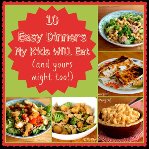 Fun Dinners Kids Eat