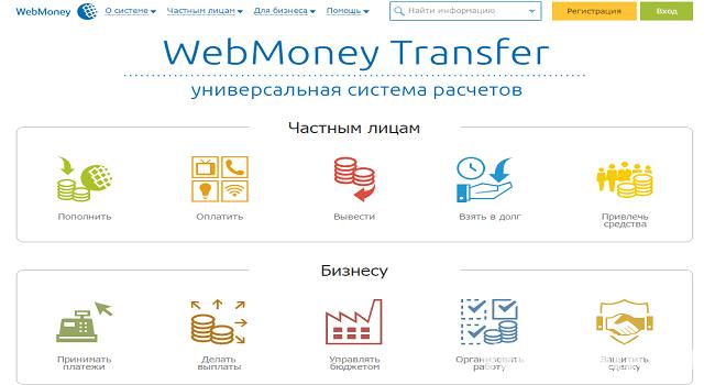 WebMoney Electronic maksujärjestelmä