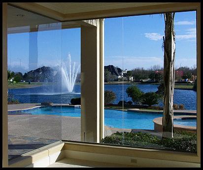 Butt Glass Windows