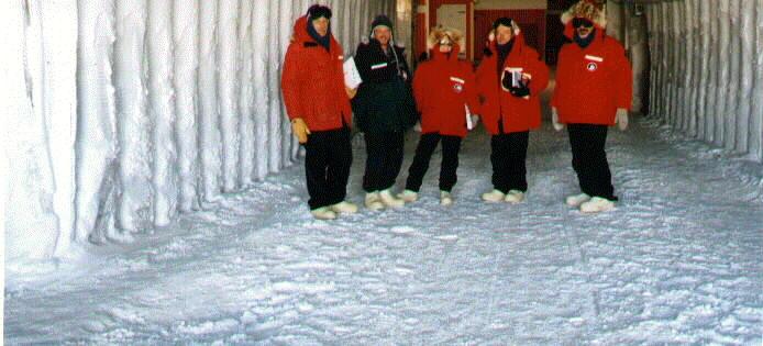 Amundsen Scott Tunnel
