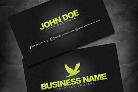 30  PSD Business Card Templates   Web3mantra PSD Business Cards