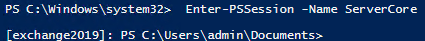 Enter PowerShell Session