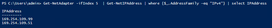 Add Secondary IP Address done!