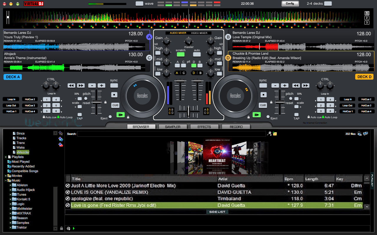 Virtual DJ Pro 2015 Free Download Setup - Web For PC