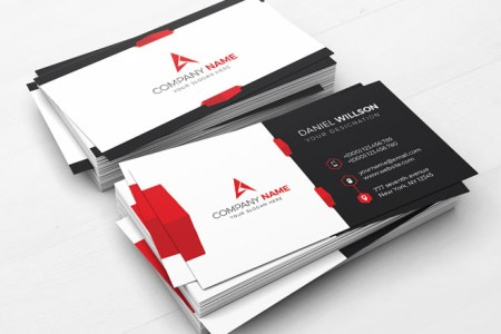 50 Creative Corporate Business Card Design examples   Design inspiration Creative and Artistic Brochure Design Template