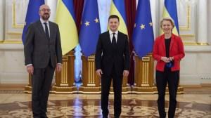 Зеленски призна безполезността на въпросите за присъединяването на Украйна към ЕС