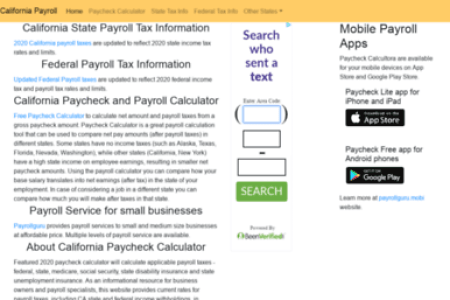 calculating payroll taxes for california employees has gotten easier