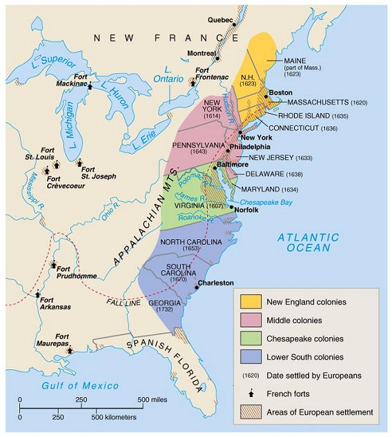 Colonies And Map Colonies 13 Spain
