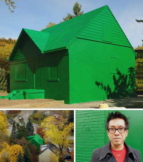 Life Size Monopoly House The Art Of Green Architecture