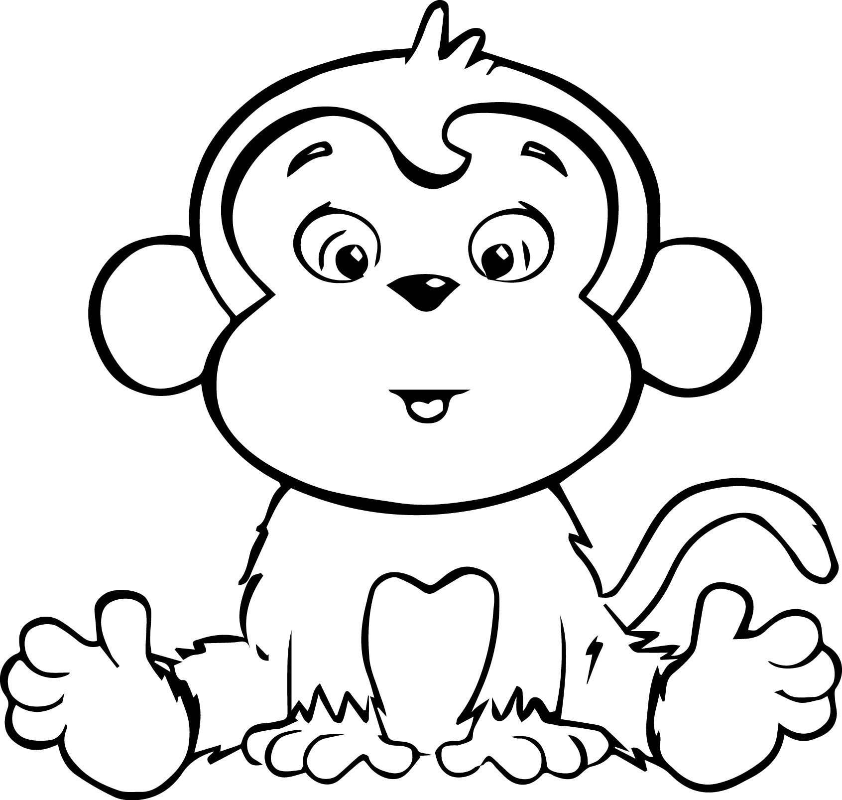 Cartoon Coloring Pages Coloring Page