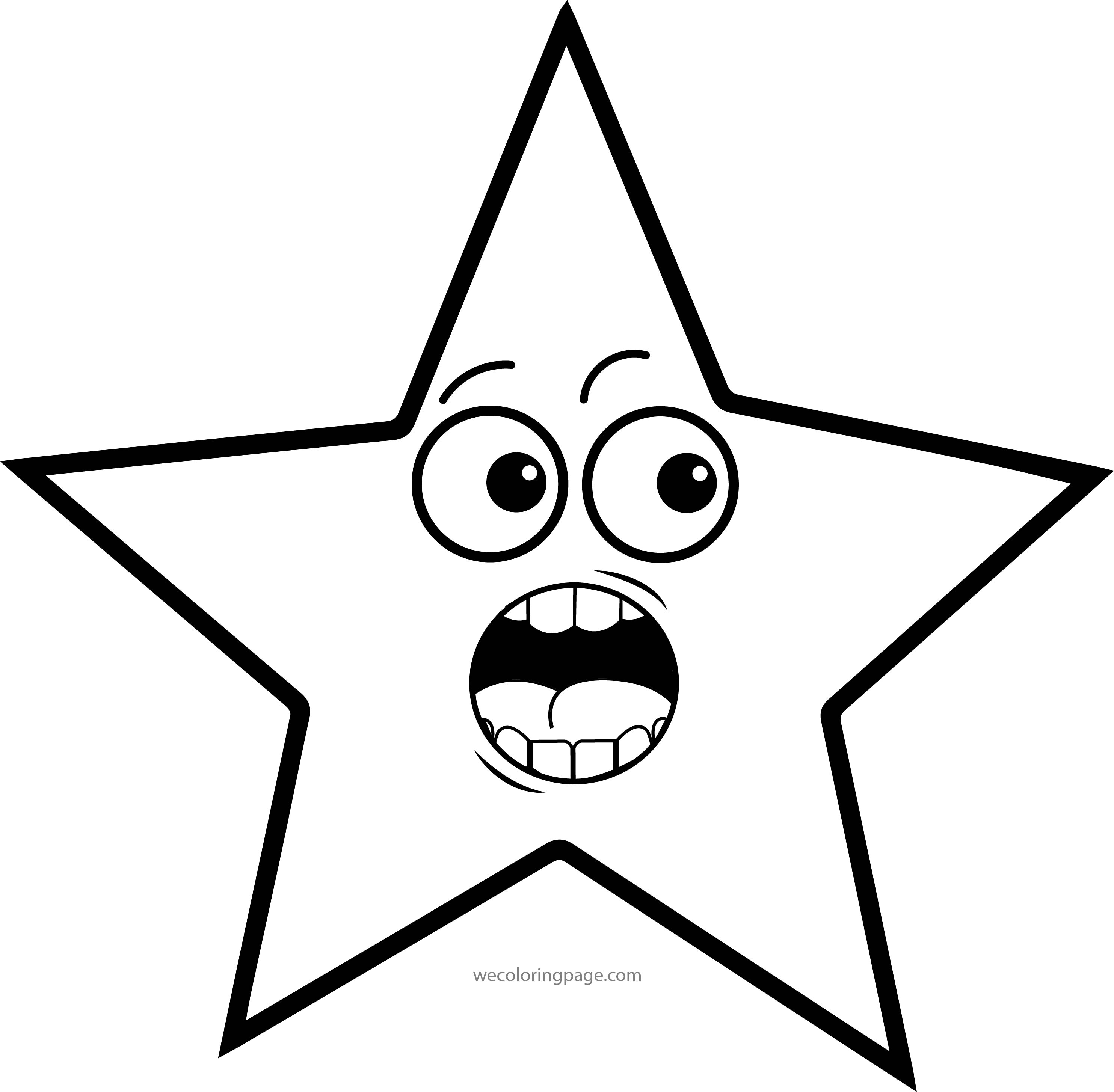 Stars Coloring Pages Wecoloringpage